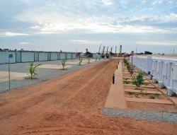 Instalace modulárních řídicích kabin dokončena v Senegalu