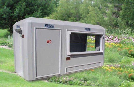 150x390 Mobilní WC  & Bezpečnostní kabina