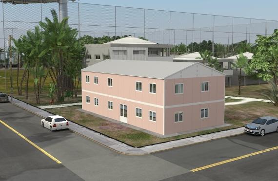 Modulární kancelářská budova 340 m²