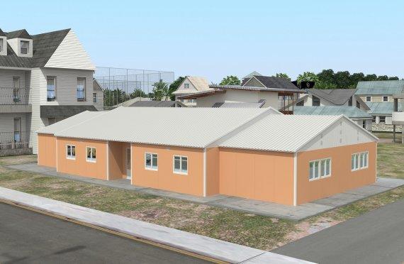 Mobilni učebna 272 m²