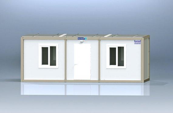 domy ze stavebních buněk