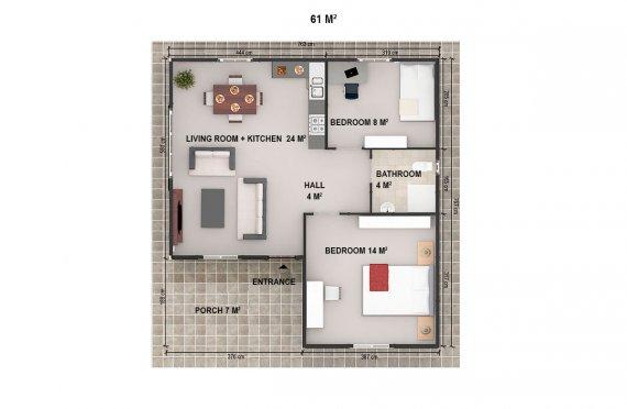 Ekologiceke domy levne