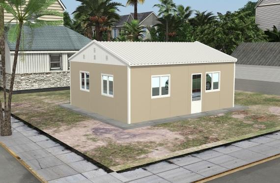 Modulární kancelářská budova49 m²