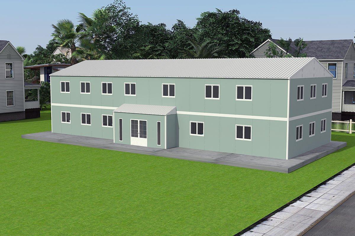 Modulární kancelářská budova 415 m²