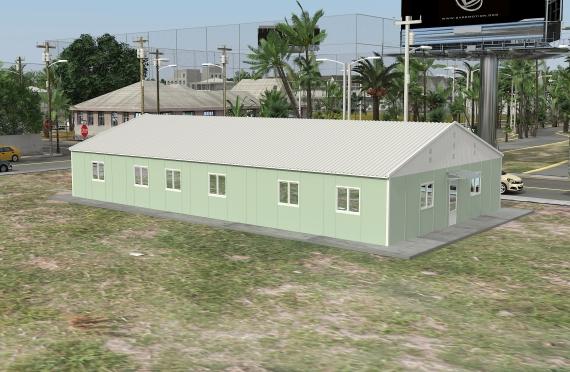 Modulární kancelářská budova 246 m²