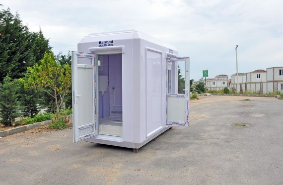 150x270 Mobilní WC   &  Bezpečnostní kabina