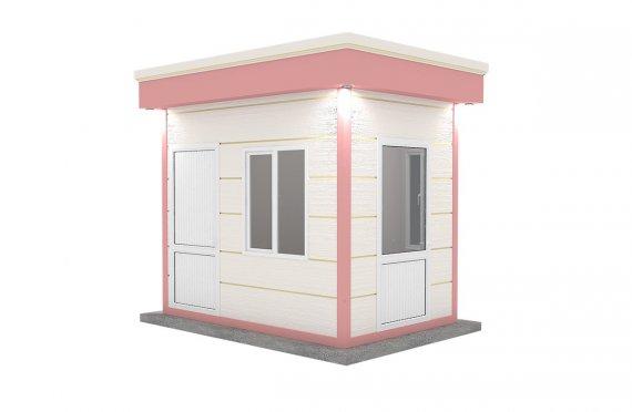 Moderní montovana kabina 200x300
