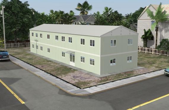 Modulární kancelářská budova 463 m²
