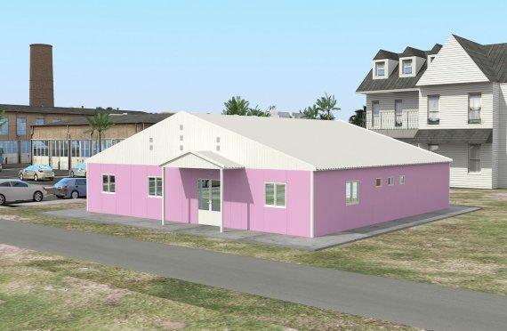 Modulární laboratoř 222 m²