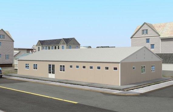 Modulární nemocnice 275 m²