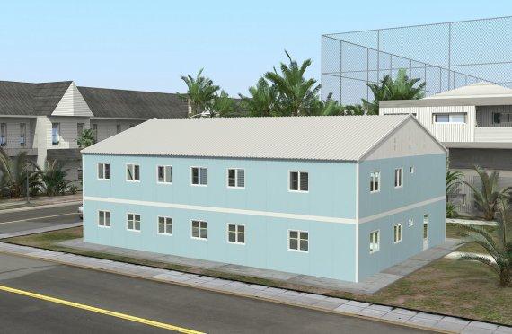 Modulární nemocnice 506 m²