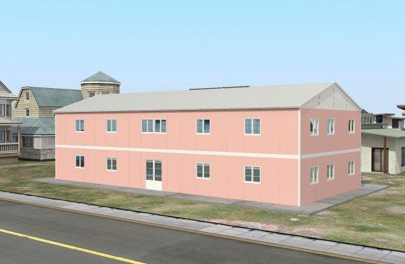 Mobilná učebňa 480 m²