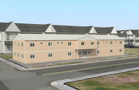 Modulární sociální zařízení 793 m²