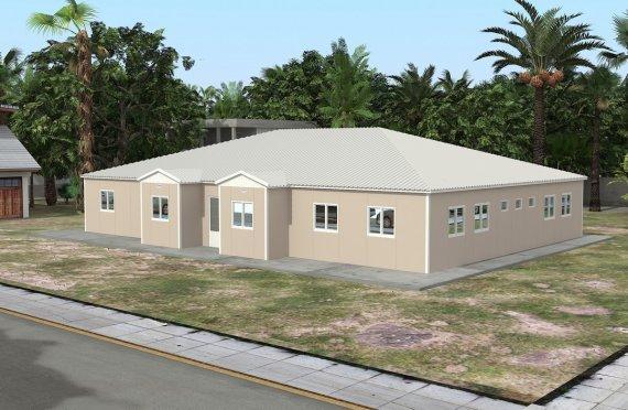 Mobilní učebna 808 m²