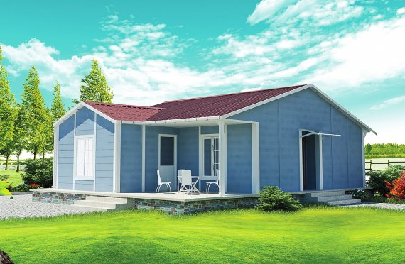 Montované domy bungalov