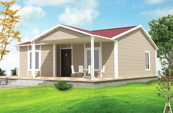 Modulové domy 75 m²