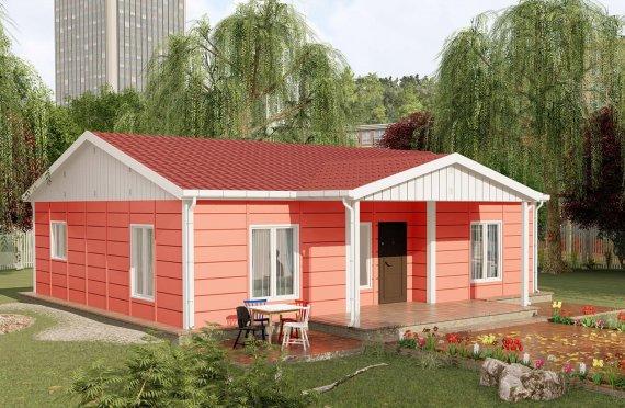 Nové mobilní domy 100 m2
