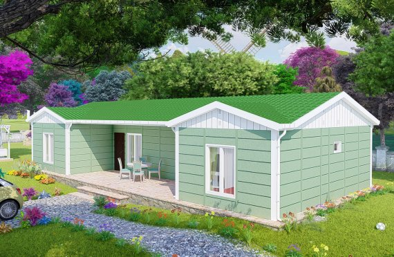 Nové mobilní domy 102 m2