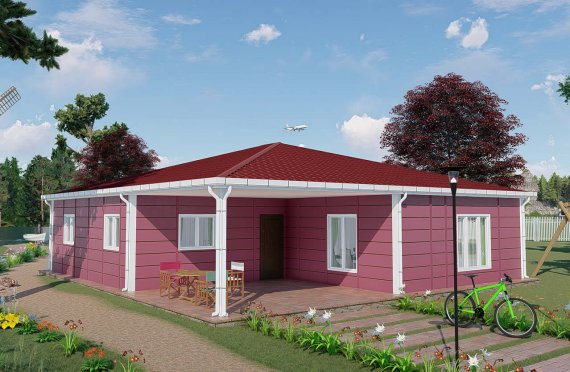 Nové mobilní domy 123 m2