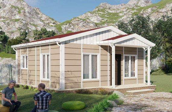 Nové mobilní domy 45 m2