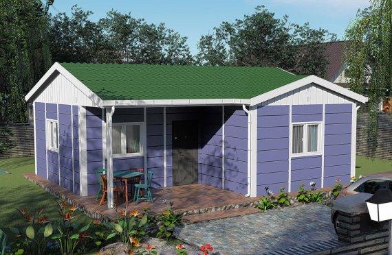 Nové mobilní domy 51 m2