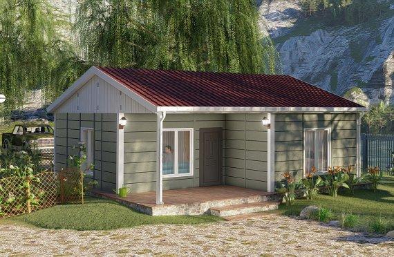 Nové mobilní domy 64 m2