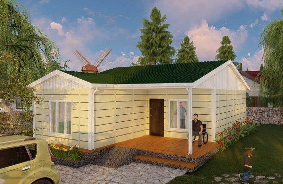 Nové mobilní domy 73 m2