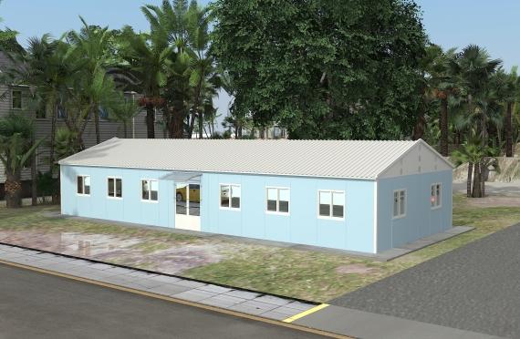 Modulární kancelářská budova146 m²