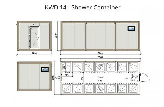 obytný kontejner použitý