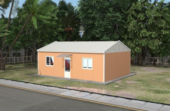 Modulární kancelářská budova 90 m²
