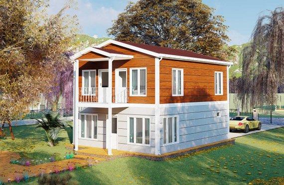 Prefabrikované Domy 126 m2