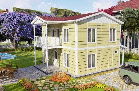 Prefabrikované Domy 128 m2