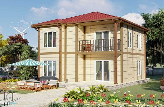 Prefabrikované Domy 138 m2