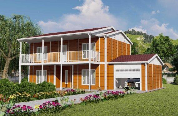 Prefabrikované Domy 196 m2