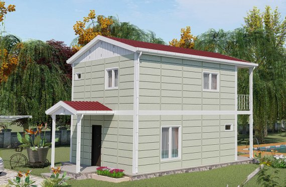 Prefabrikované Domy 91 m2