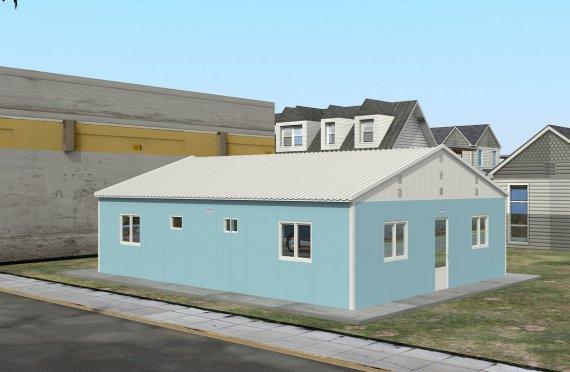 Modulární ubytovací jednotka 102 m²