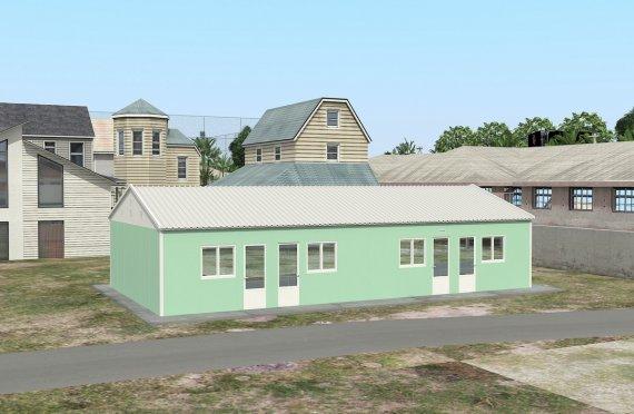 Modulární ubytovací jednotka 117 m²