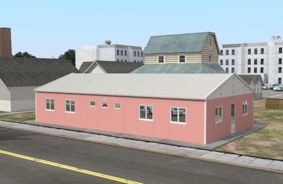Modulární ubytovací jednotka 148 m²