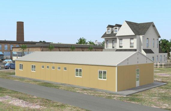 Modulární ubytovací jednotka 193 m²