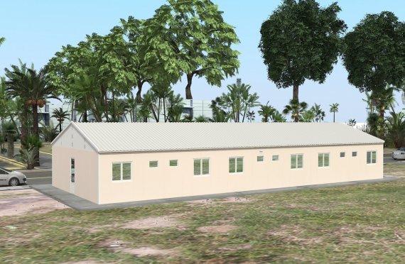 Modulární ubytovací jednotka 204 m²