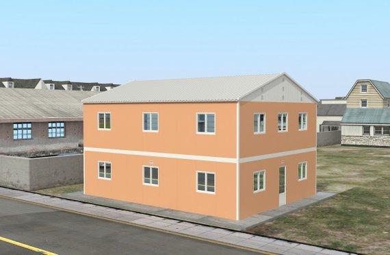 Modulární ubytovací jednotka 206 m²