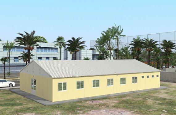Modulární ubytovací jednotka 232 m²