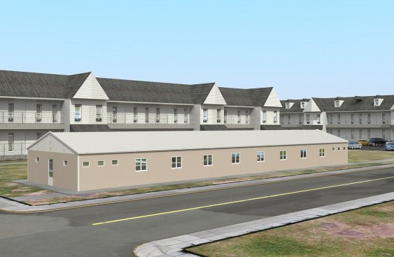Modulární ubytovací jednotka 339 m²