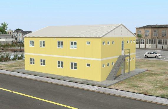 Modulární ubytovací jednotka 348 m²