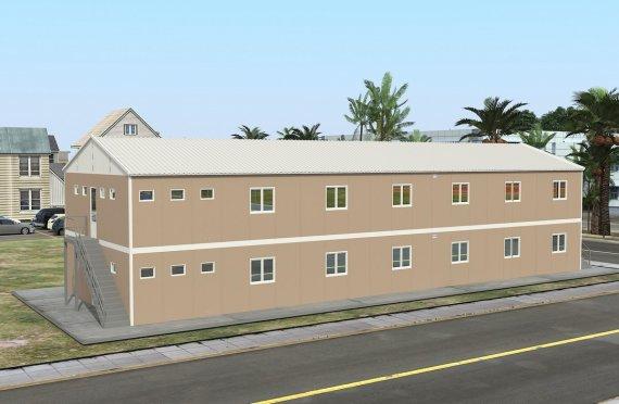 Modulární ubytovací jednotka 474 m²