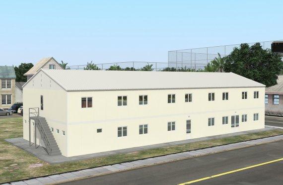 Modulární ubytovací jednotka 662 m²