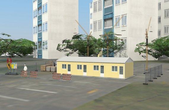 Modulární ubytovací jednotka 79 m²