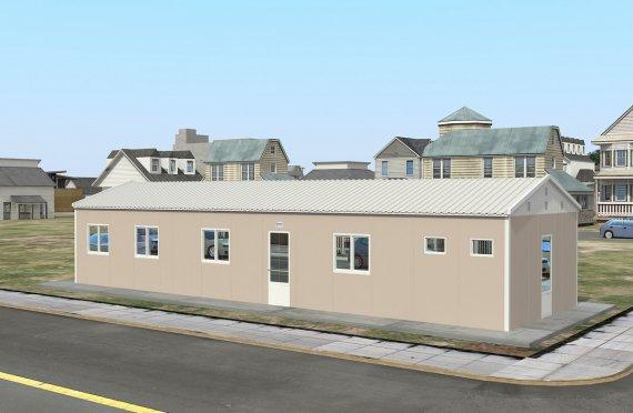 Modulární ubytovací jednotka 86 m²