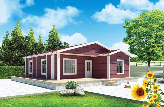 Modulové domy 88 m²