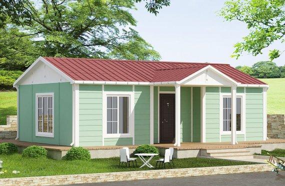 Modulové domy 51 m²